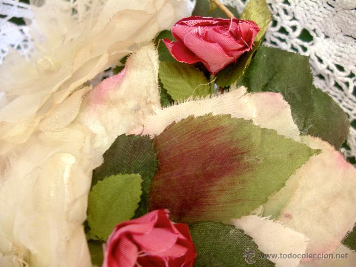 Vintage: Tocado casquete o sombrero de novia de los años 30. Sin estrenar. 20 40 1920s 1930s 1940s Art Decó - Foto 13 - 40243463