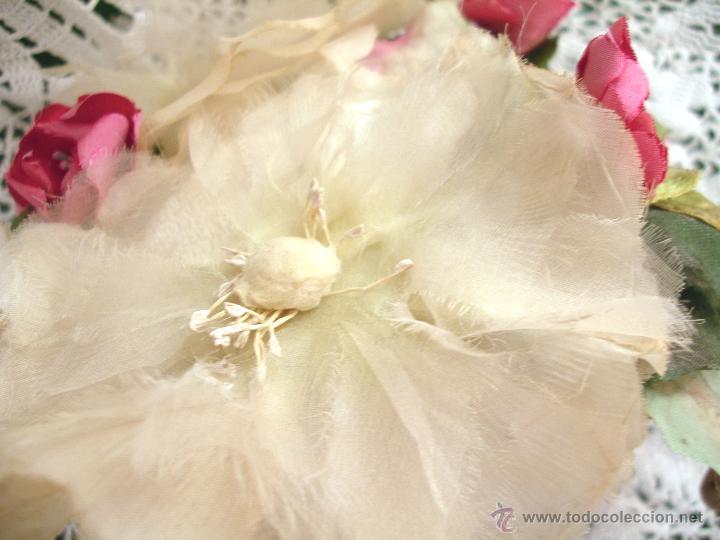 Vintage: Tocado casquete o sombrero de novia de los años 30. Sin estrenar. 20 40 1920s 1930s 1940s Art Decó - Foto 14 - 40243463