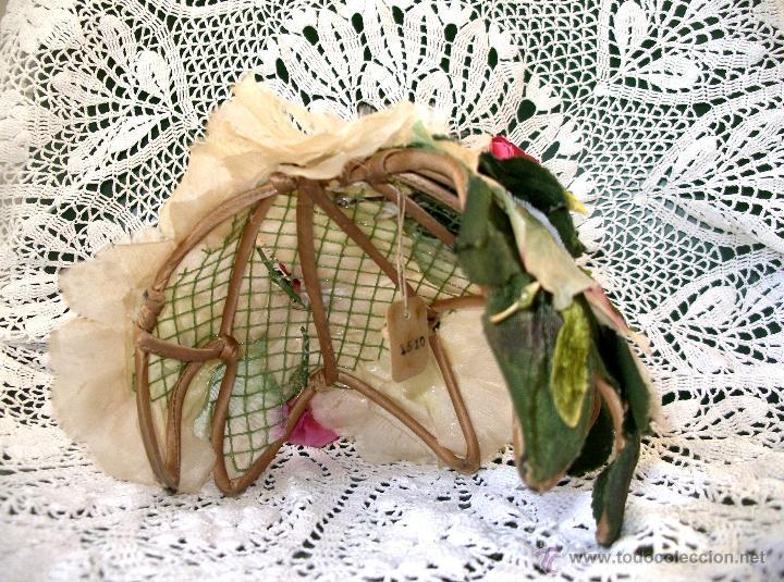 Vintage: Tocado casquete o sombrero de novia de los años 30. Sin estrenar. 20 40 1920s 1930s 1940s Art Decó - Foto 15 - 40243463