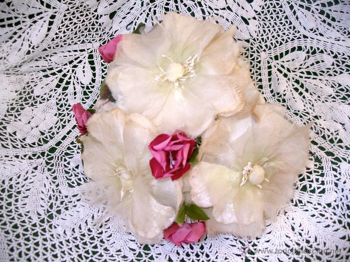 Vintage: Tocado casquete o sombrero de novia de los años 30. Sin estrenar. 20 40 1920s 1930s 1940s Art Decó - Foto 16 - 40243463