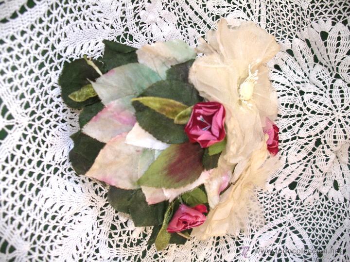 Vintage: Tocado casquete o sombrero de novia de los años 30. Sin estrenar. 20 40 1920s 1930s 1940s Art Decó - Foto 17 - 40243463