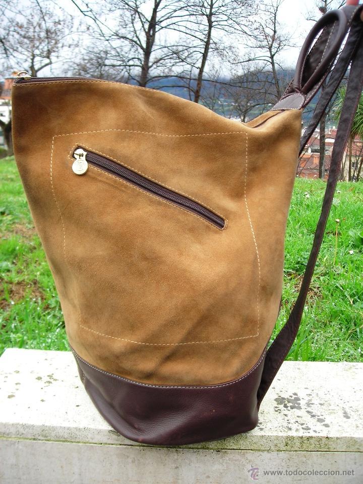 los vintage Comprar 80 de Complementos mochila bolso loewe años znfwUg7xaq