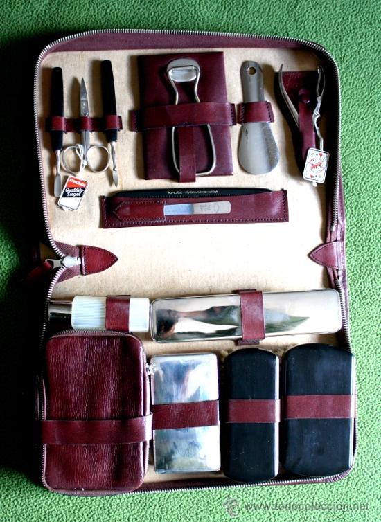 fe067ed7c Neceser vintage de hombre tipo maletín para ase - Vendido en Venta ...