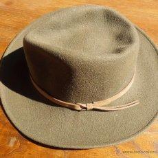 Vintage: SOMBRERO LEISURE FELT 100% WOOL. Lote 42295333