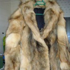 Vintage: CHAQUETON DE ZORRO TALLA 42. Lote 42530658