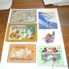 Vintage: SOBREPUESTOS PARA ROPA ,SON ABDERENTES CON PLANCHA. Lote 43144070