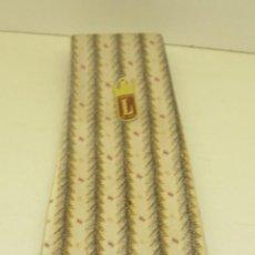 Vintage: ANTIGUA CORBATA AÑOS 40-50 CORBATA DE ORO LEDO NUEVA SIN ESTRENAR,RETRO HIPSTER FRIKI. Lote 43461409