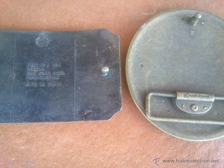 Vintage: PRECIOSAS HEBILLAS EN METAL ANTIGUO.MADE IN SPAIN - Foto 4 - 43941594