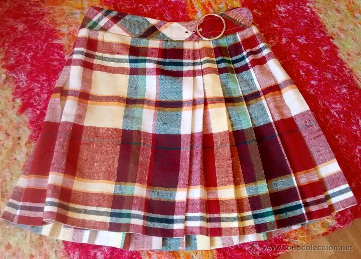 falda cuadros años 60. tipo colegiala - Comprar Moda vintage mujer ... 547677a313a9