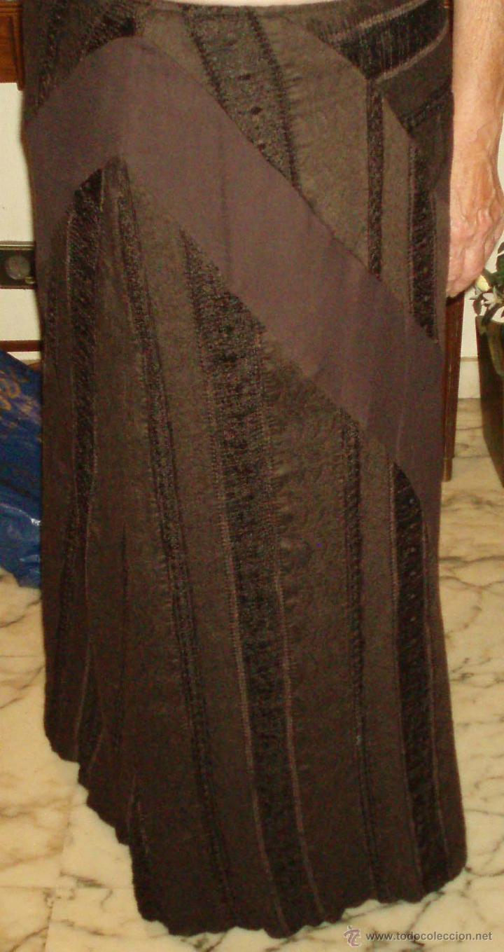 FALDA LARGA NUEVA SIN ESTRENAR DE ELENA MIRO TALLA 42 (Vintage - Moda - Mujer)