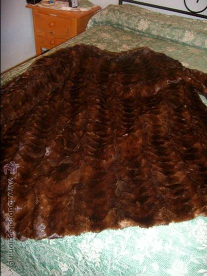 Piel Comprar Vintage Abrigo En Moda Visón Marrón Mujer TnAg1Wgv