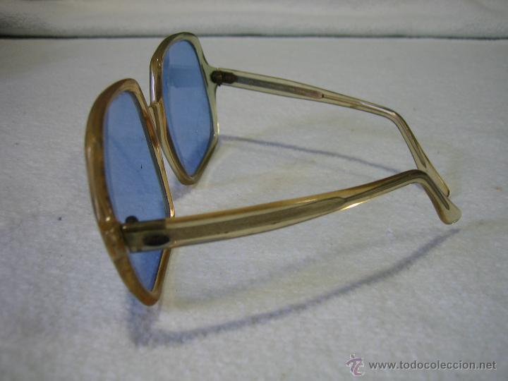 Vintage: ByC.Gafas de sol años 60 de señora. Anchura frontal 15,5 cm - Foto 2 - 44804054