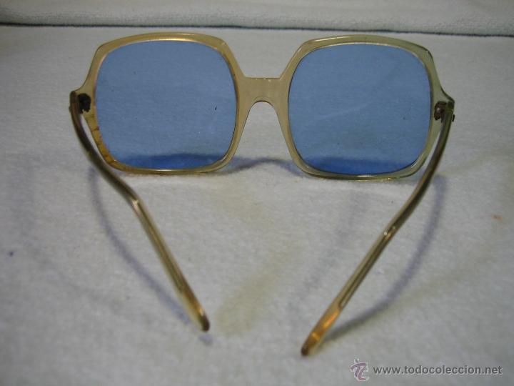 Vintage: ByC.Gafas de sol años 60 de señora. Anchura frontal 15,5 cm - Foto 3 - 44804054