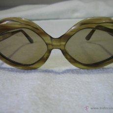 Vintage: G. GAFAS DE SOL AÑOS 60 DE SEÑORA. ANCHURA FRONTAL 15 CM. Lote 44808704