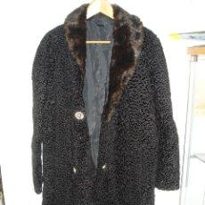 Vintage: ABRIGO MUJER ASTRAKAN, CASI SIN USO, TALLA L. Lote 44887559
