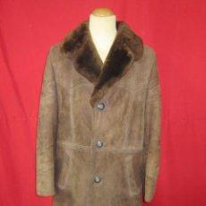 Vintage - Abrigo o chaquetón de piel vuelta de caballero. Talla M/L. Monza. - 45246232