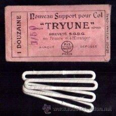 Vintage: SOBRE CON 4 SOPORTES PARA COLETAS. TRYUNE. PARIS. Lote 46503948