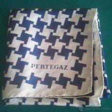 Vintage: PAÑUELO DE CUELLO - PERTEGAZ - MIDE 75 X 75 CMS - AÑOS 60 - FOTOS ADICIONALES. Lote 46905950