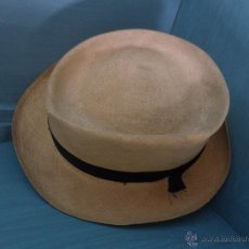 Vintage: ANTIGUO SOMBREO PARA HOMBRE DE FINO CORDEL. Lote 47172355
