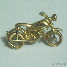Vintage: HARLEY DAVIDSON PIN PLATA. Lote 47477000