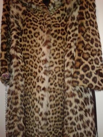 Cuanto cuesta un abrigo de piel de leopardo