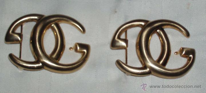 Calidad superior comprar lujo valor por dinero dos hebillas para cinturon en dorado