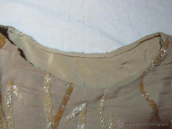 Vintage: Blusa fantasía o fiesta bordada con abalorios - Foto 5 - 48196288