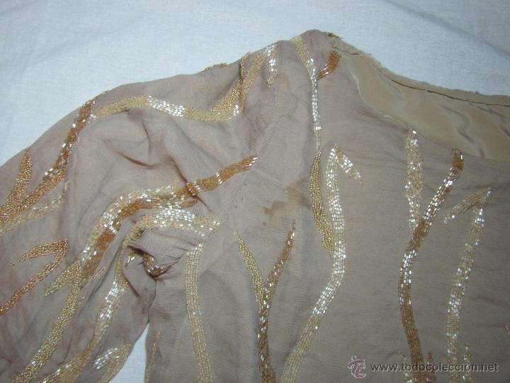 Vintage: Blusa fantasía o fiesta bordada con abalorios - Foto 12 - 48196288