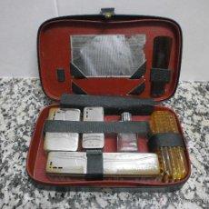Vintage: ANTIGUO ESTUCHE DE VIAJE. Lote 48423028