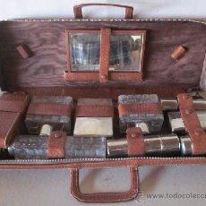Vintage: MALETIN TOCADOR DE VIAJE - VINTAGE AÑOS 50. Lote 48655571