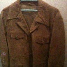 Vintage: CHAQUETA DE PIEL-ANTE,...AÑOS 60. Lote 24197060