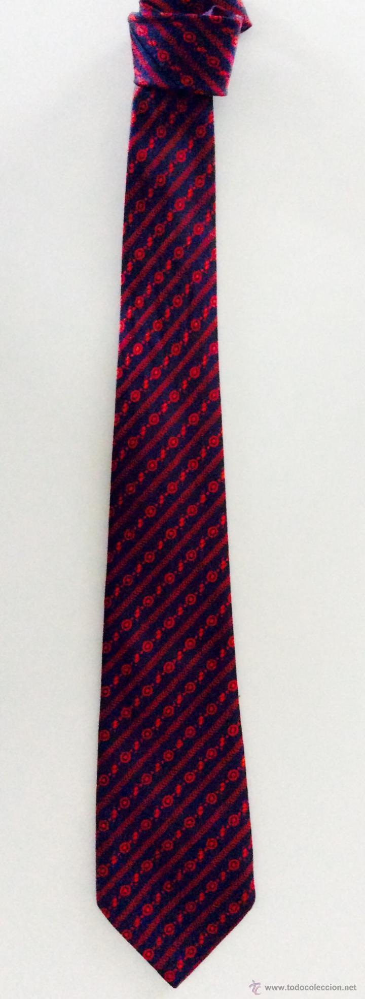 Vintage: Lote de 7 corbata, corbatas de diferentes años, 60,70,80 y 90 - Foto 8 - 48825111