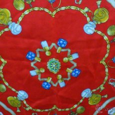 Vintage: FOULARD PAÑUELO VINTAGE 100% SEDA MADE IN ITALY ANDREA ZANELLATO. Lote 49029225