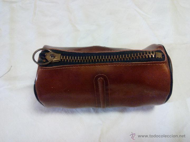 Vintage: Estuche marca amity. con accesorios para la limpieza del calzado. estuche de los años 50 - Foto 4 - 49040071