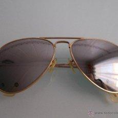 Vintage: GAFAS DE SOL VINTAGE 70´S CRISTAL DE ESPEJO. Lote 49541696