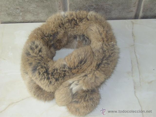 Boutique en ligne 0cf99 377da Cuello,estola de piel de conejo,con bola de cie - Vendido en ...