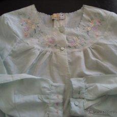 Vintage: CAMISON CON BORDADOS A ESTRENAR. Lote 55051543