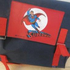 Vintage: CARTERA ESCOLAR VINTAGE --AÑOS 70- SUPERMAN-SAFTA--COLEGIO ESCUELA BOLSO. Lote 49881988