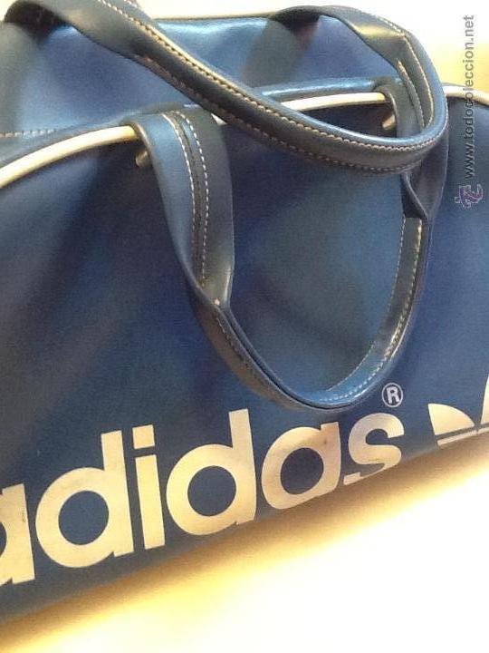 70 Original En Vintage Venta Bolso Azul Años Vendido Adidas OzTtXw
