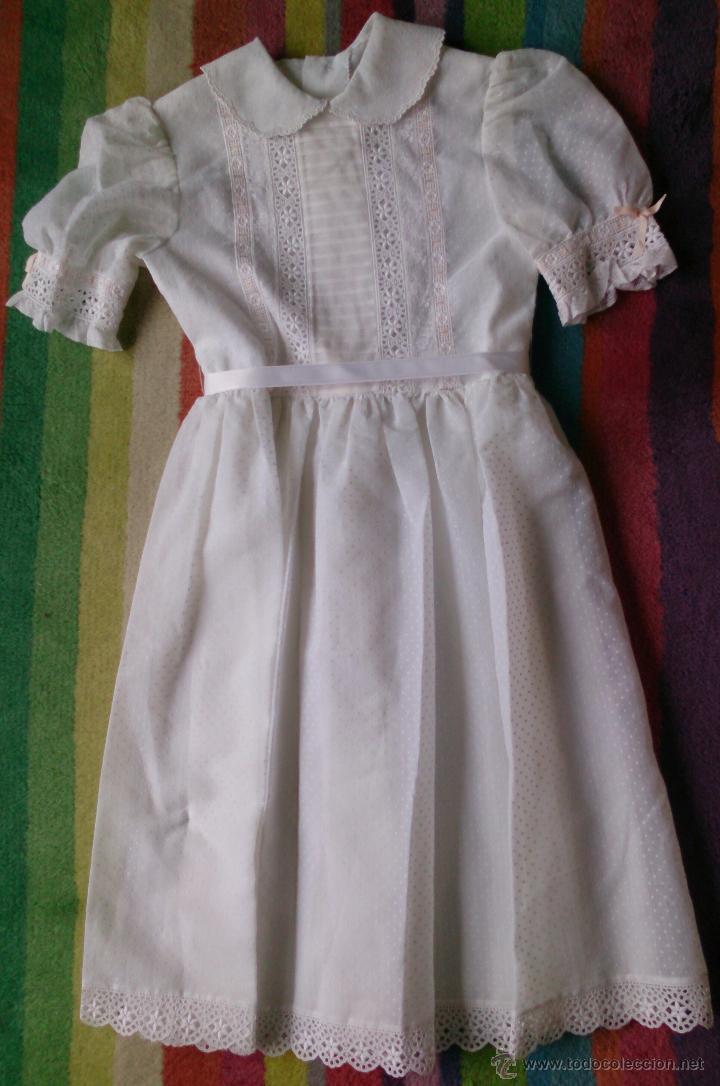 ed0327e765d6b vestido de niña años 80