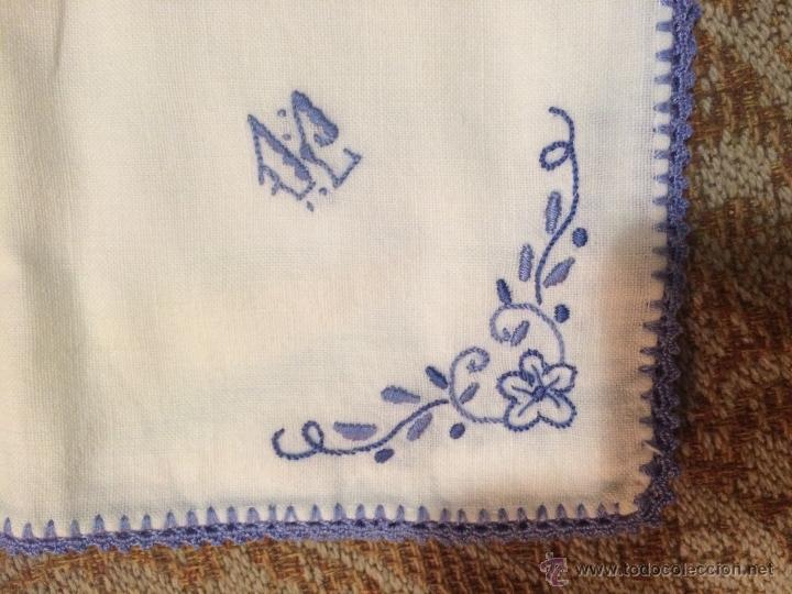 antiguo mantel pequeño individual con bonito di - Comprar ...