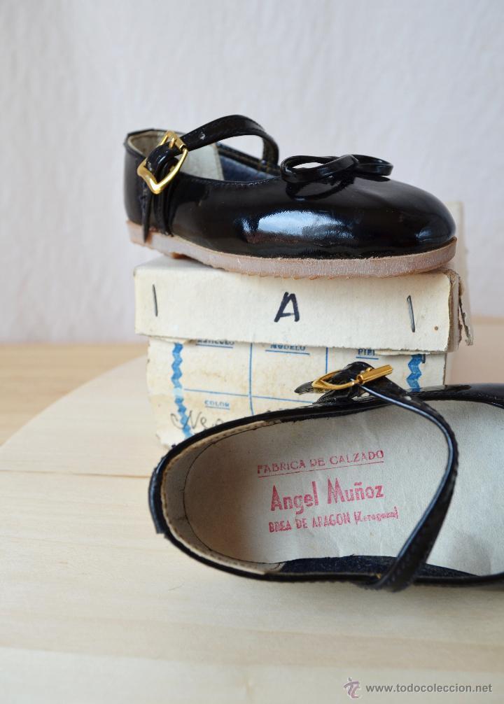 Comprar Zapatos Negr Antiguos Vintage Charol Niña De AxwqATYrB