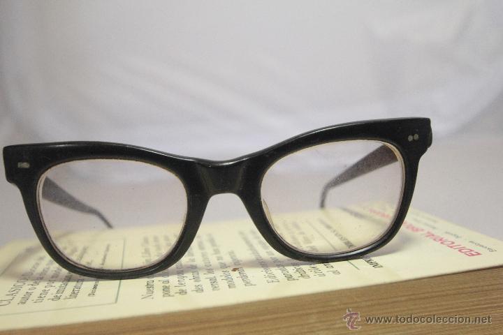 gafas vintage, antigua montura para gafas con c - Comprar ...
