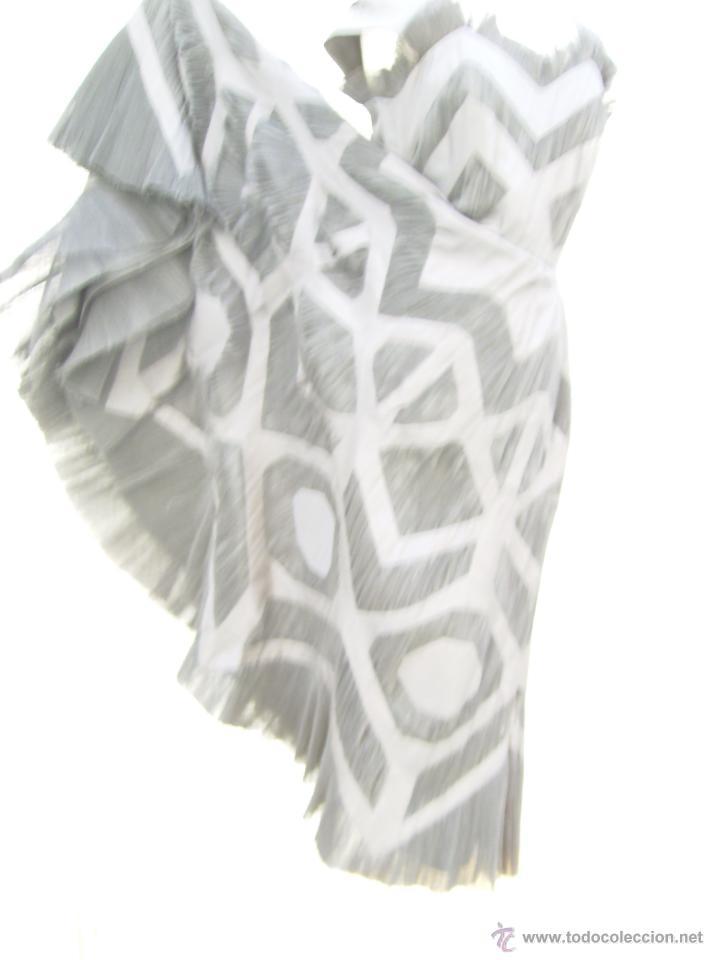 Vintage: Vestido de alta costura, de Asuncion Bastida,. hacia 1950 - Foto 6 - 51236998