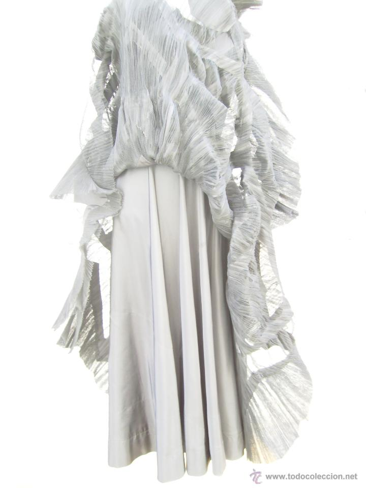 Vintage: Vestido de alta costura, de Asuncion Bastida,. hacia 1950 - Foto 7 - 51236998