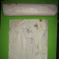 Vintage: Nª 20 PATRON DE TRAJE DE SEÑORA AÑOS 40 O 50. ESTA SIN ABRIR, NO SE LA TALLA. Lote 51765934