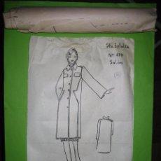Vintage: Nª 10 PATRON DE TRAJE DE SEÑORA AÑOS 40 O 50. ESTA SIN ABRIR, NO SE LA TALLA. Lote 51766115