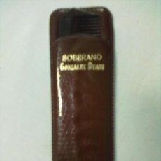 Vintage: PEINE EN SU FUNDA MARRON. Lote 52653795