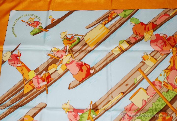 Vintage: Pañuelo vintage de seda de Hermès a estrenar (ver fotos adicionales) - Foto 2 - 53939085