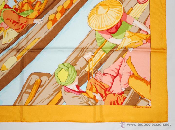 Vintage: Pañuelo vintage de seda de Hermès a estrenar (ver fotos adicionales) - Foto 4 - 53939085